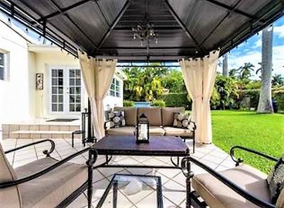 Hollywood Single Family Home For Sale: 1410 Van Buren Street