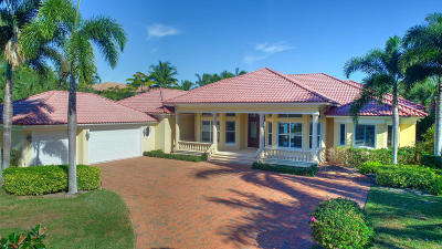 Tequesta Single Family Home For Sale: 18812 Rio Vista Drive