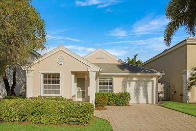Palm Beach Gardens Single Family Home For Sale: 55 Admirals Court