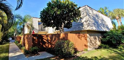 West Palm Beach Townhouse Sold: 1700 Embassy Drive #403