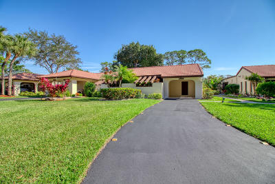 Single Family Home For Sale: 21680 Tall Palm Circle #12b