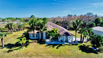 Loxahatchee Single Family Home For Sale: 2742 Prarieview Drive