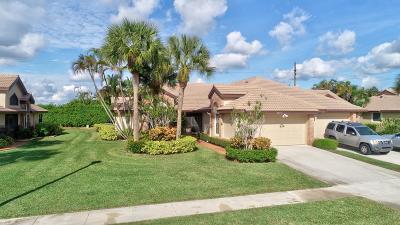 boynton beach Single Family Home For Sale: 7219 Le Chalet Boulevard