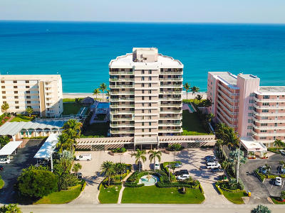 Trafalgar Of Highland Beach Condo, Trafalgar Towers Condo No 2, trafalgar Condo For Sale: 2917 S Ocean Boulevard #604