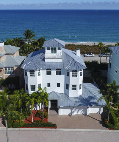 Jupiter Single Family Home For Sale: 145 Ocean Key Way