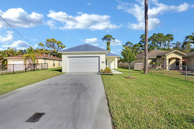 Jupiter Single Family Home For Sale: 6943 Mitchell Street