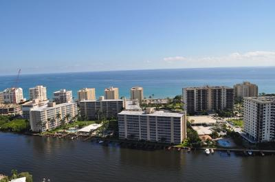 Highland Beach Condo For Sale: 3224 S Ocean Boulevard #912-B