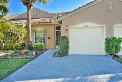 Boynton Beach Single Family Home Contingent: 8456 Logia Circle