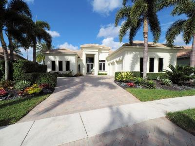 West Palm Beach Single Family Home For Sale: 8057 Cranes Pointe Way