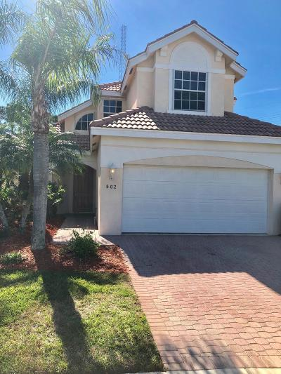 Port Saint Lucie Single Family Home For Sale: 802 SW Munjack Circle