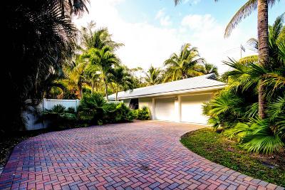 Lantana Single Family Home For Sale: 103 S Atlantic Drive