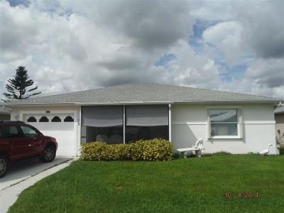 Fort Pierce Single Family Home For Sale: 6667 Tulipan Street