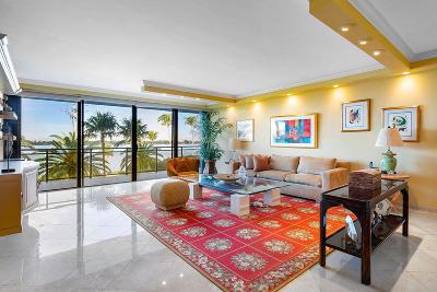 Palm Beach Condo For Sale: 3100 S Ocean Boulevard #207 S