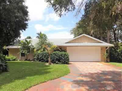 Palm Beach Gardens Single Family Home For Sale: 2357 Holly Lane