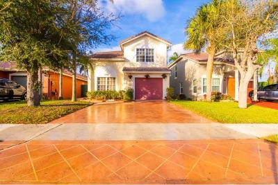 Boynton Beach Single Family Home Contingent: 4965 Purdue Drive
