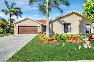 Boca Raton Single Family Home For Sale: 11803 Woodsong Court
