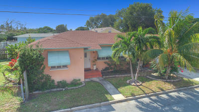 Lake Worth, Lakeworth Single Family Home For Sale: 1130 K Street