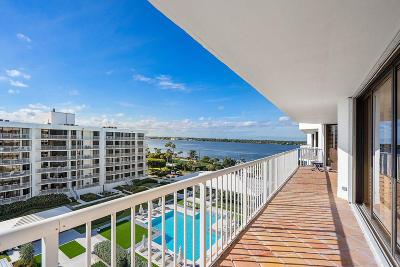 Palm Beach Condo For Sale: 3170 S Ocean Boulevard #702 N