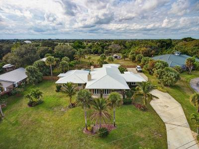 Fort Pierce Single Family Home Contingent: 2405 S Indian River Drive