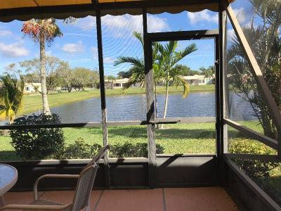 Boca Raton Single Family Home For Sale: 18900 Haywood Terrace #6