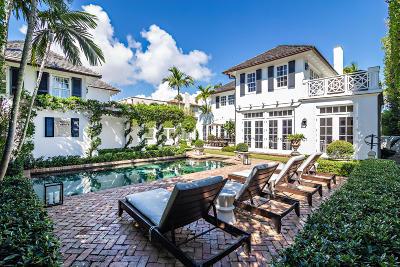 Palm Beach Single Family Home For Sale: 146 Seaspray Avenue