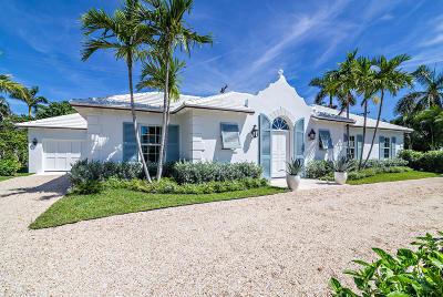 Palm Beach Single Family Home For Sale: 261 El Dorado Lane