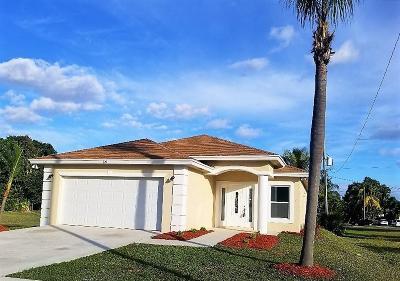 Boynton Beach Single Family Home For Sale: 829 SW 1st Court