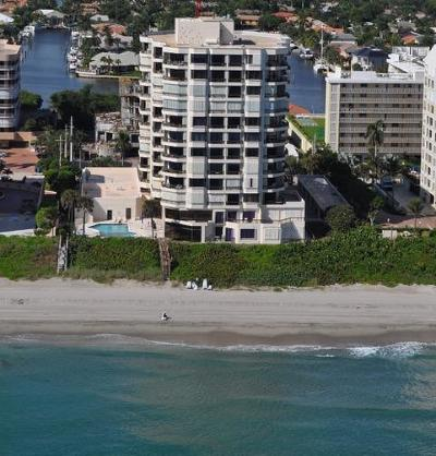 Highland Beach Condo For Sale: 3201 S Ocean Boulevard #1002