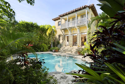 Palm Beach Single Family Home For Sale: 346 Seabreeze Avenue