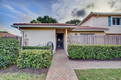 Boynton Beach Single Family Home For Sale: 18 Southport Lane #A