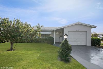 Leisureville, Palm Beach Leisureville Single Family Home For Sale: 1006 SW 6th Avenue