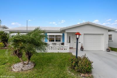 Boynton Beach Single Family Home For Sale: 1311 SW 21st Street