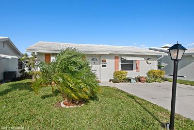 Boynton Beach Single Family Home For Sale: 2185 SW Congress Boulevard