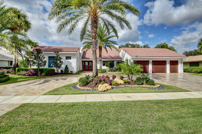 Delray Beach Single Family Home For Sale: 16621 Sweet Bay Drive