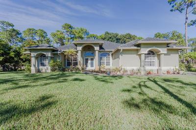 Loxahatchee Single Family Home For Sale: 15125 Temple Boulevard