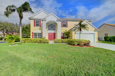 Lake Worth Single Family Home For Sale: 6375 Old Medinah Circle