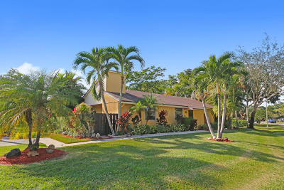 Boca Raton Single Family Home Contingent: 11698 Timbers Way