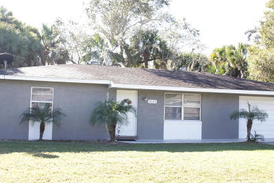 Fort Pierce Single Family Home For Sale: 7605 Deland Avenue