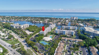 Delray Beach Condo For Sale: 1 Harbourside Drive #4-607