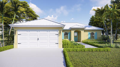 Fort Pierce Single Family Home Contingent: 7801 Fort Walton Avenue