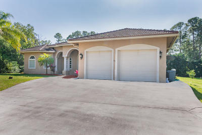 Loxahatchee Single Family Home For Sale: 17874 47 Court