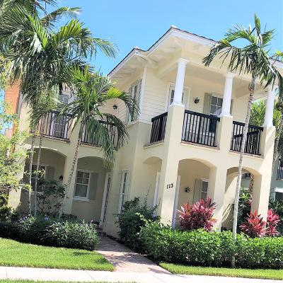 Jupiter Single Family Home Contingent: 113 Sugarberry Drive