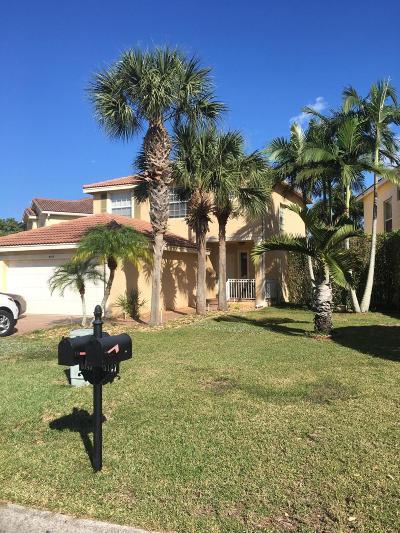 Greenacres Single Family Home For Sale: 5149 Aurora Lake Circle