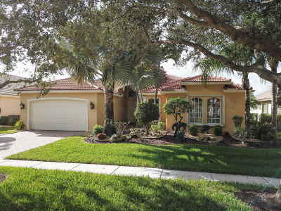 Lake Worth Single Family Home For Sale: 7559 Tarpon Cove Circle