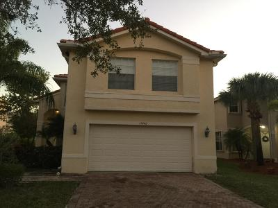 Royal Palm Beach Single Family Home For Sale: 11442 S Garden Cress Trail S #2