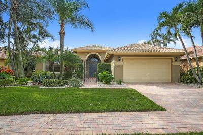 Boynton Beach Single Family Home For Sale: 11067 Via Sorrento