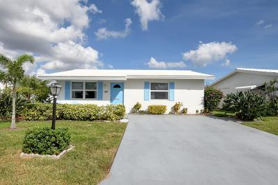 Boynton Beach Single Family Home For Sale: 514 SW 16th Street