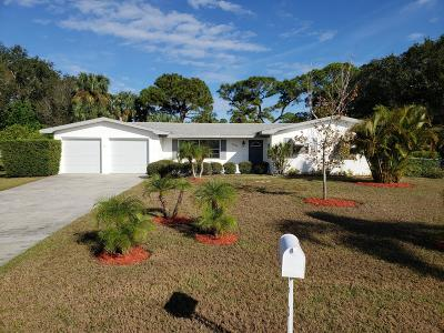 Fort Pierce Single Family Home For Sale: 2886 Crist Circle