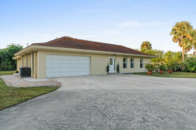 West Palm Beach Single Family Home Contingent: 277 Via Hermosa