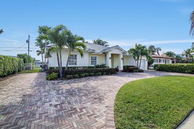West Palm Beach Single Family Home Contingent: 170 Arlington Road
